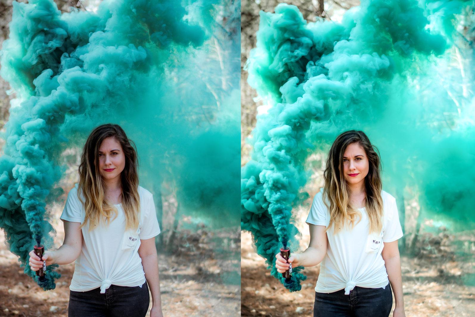 12 Smoke Bomb Lightroom Presets to enhance your Smoke Bomb Photoshoots - Preview 1 39 -