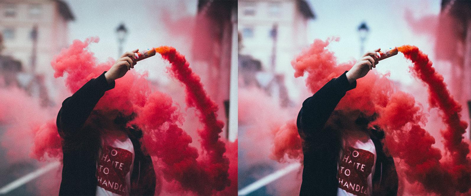 12 Smoke Bomb Lightroom Presets to enhance your Smoke Bomb Photoshoots - Preview 7 6 -