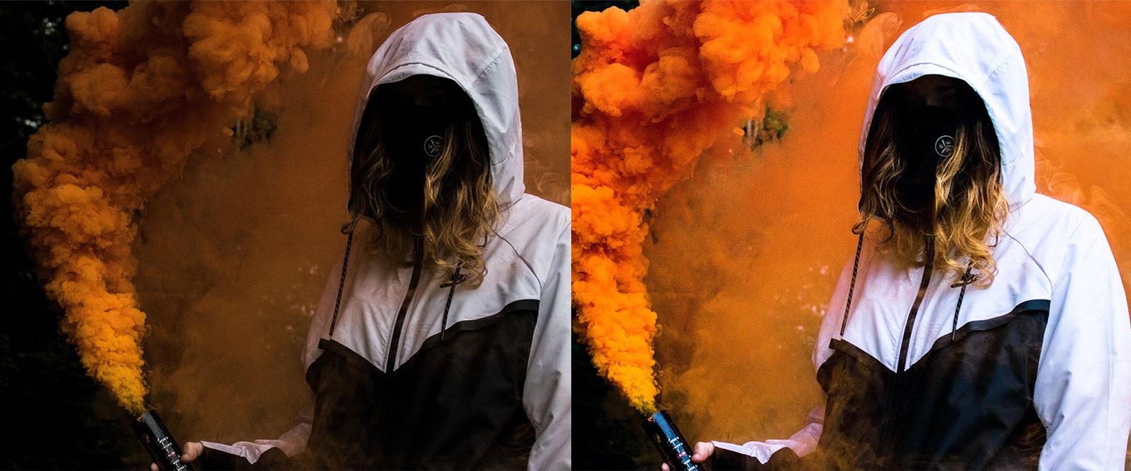 12 Smoke Bomb Lightroom Presets to enhance your Smoke Bomb Photoshoots - Preview 8 6 -