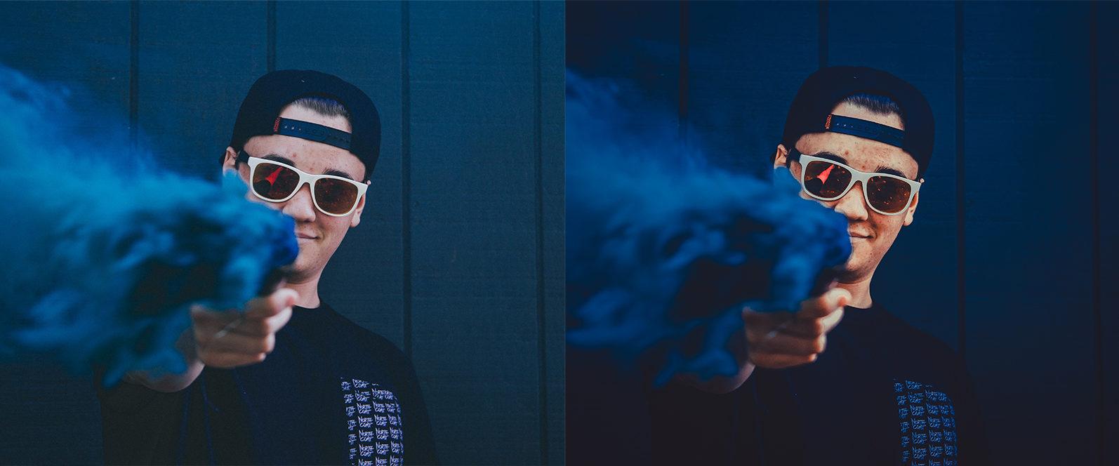 12 Smoke Bomb Lightroom Presets to enhance your Smoke Bomb Photoshoots - Preview 9 3 -