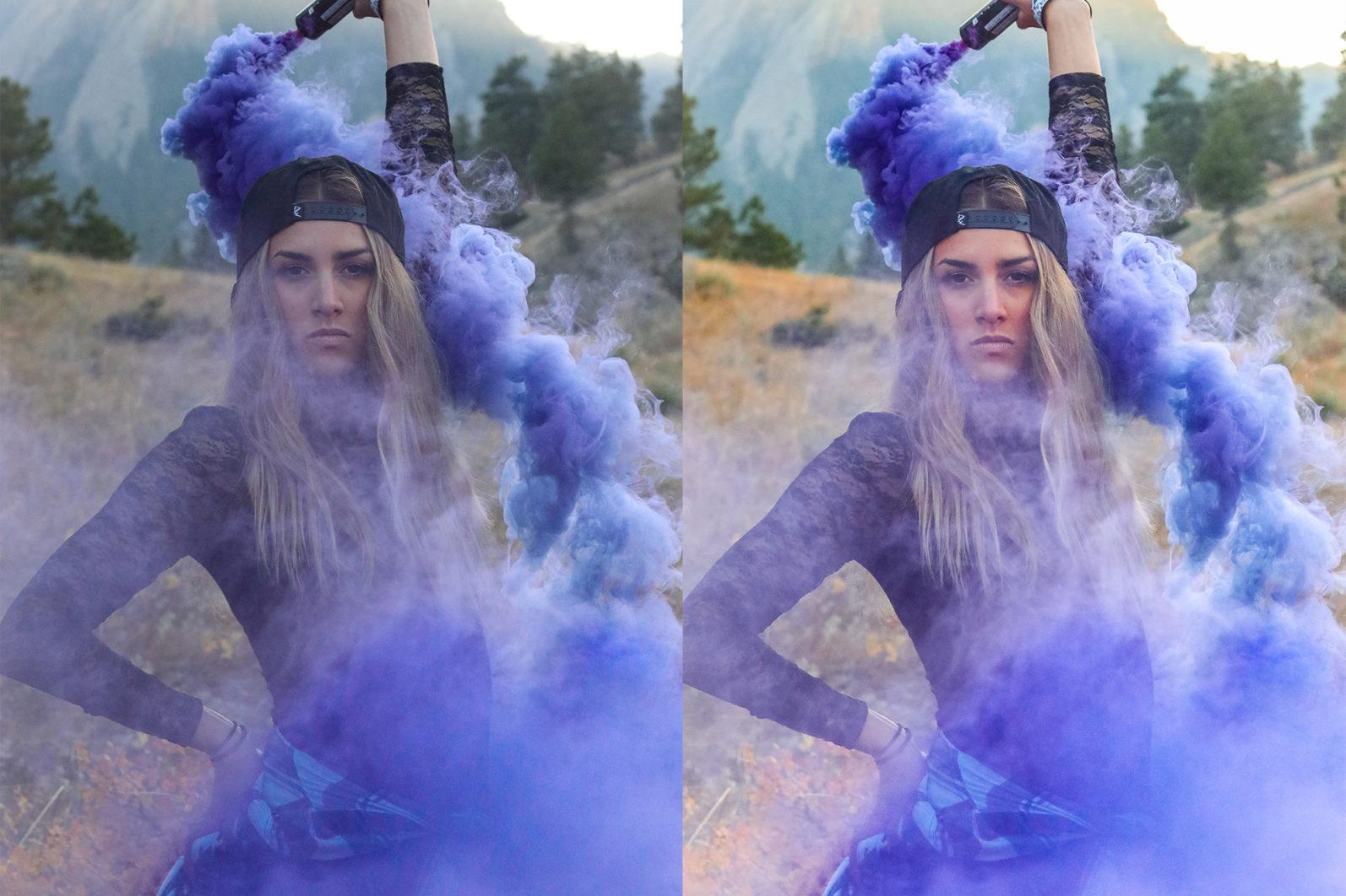 12 Smoke Bomb Lightroom Presets to enhance your Smoke Bomb Photoshoots - Preview 10 3 -