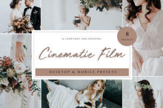 Lifestyle Lightroom Presets - Cinematic Film LR -