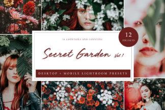 Green Lightroom Presets - Secret Garden LR -