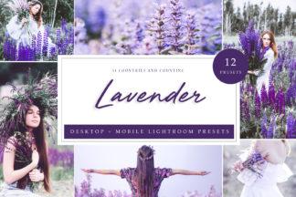 Nature Lightroom Presets - Lavender LR -