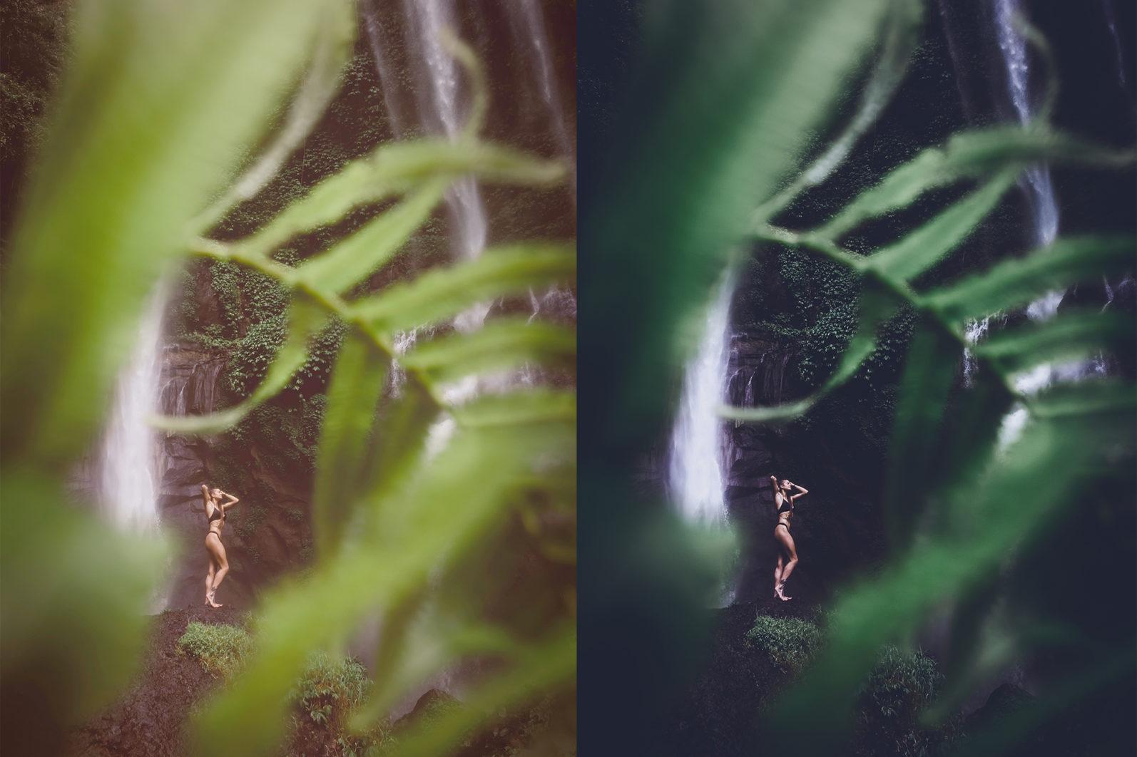 10 x Rain Forest Lightroom Presets | Green Lightroom Presets | Nature Presets - Rain Forest Preview 9 -
