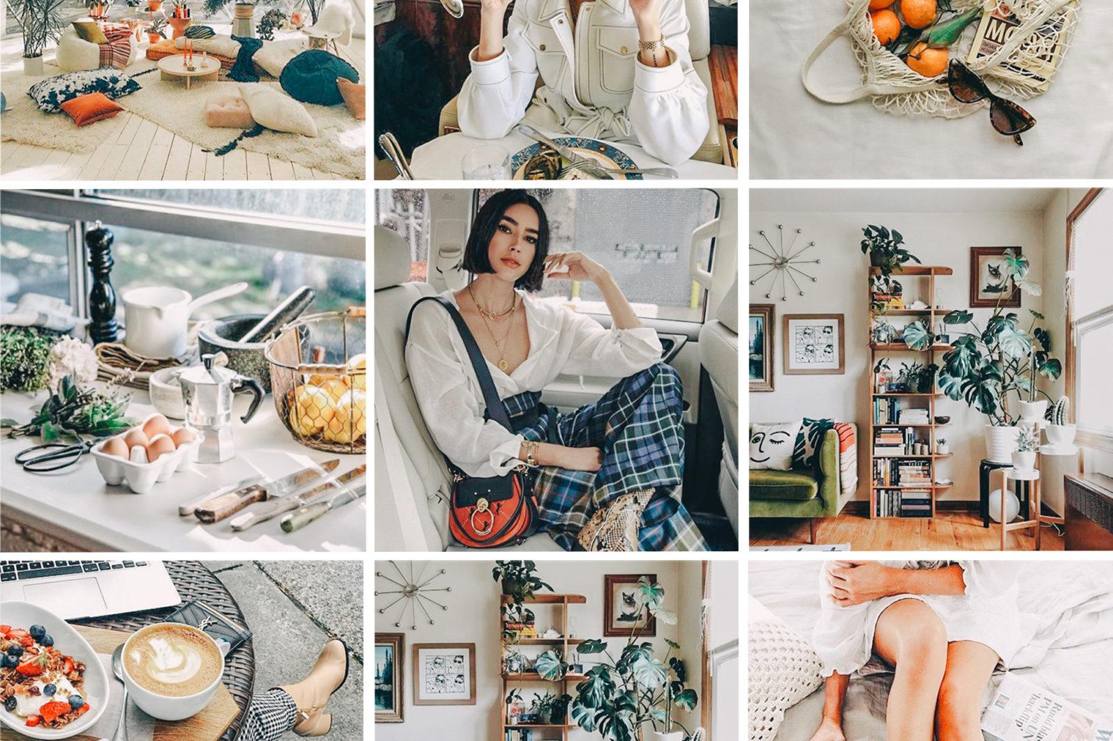 BEST SELLER ⭐️ 7 Mobile & Desktop Lightroom Presets WHITE Instagram Filter - white mobile lightroom presets page3 -