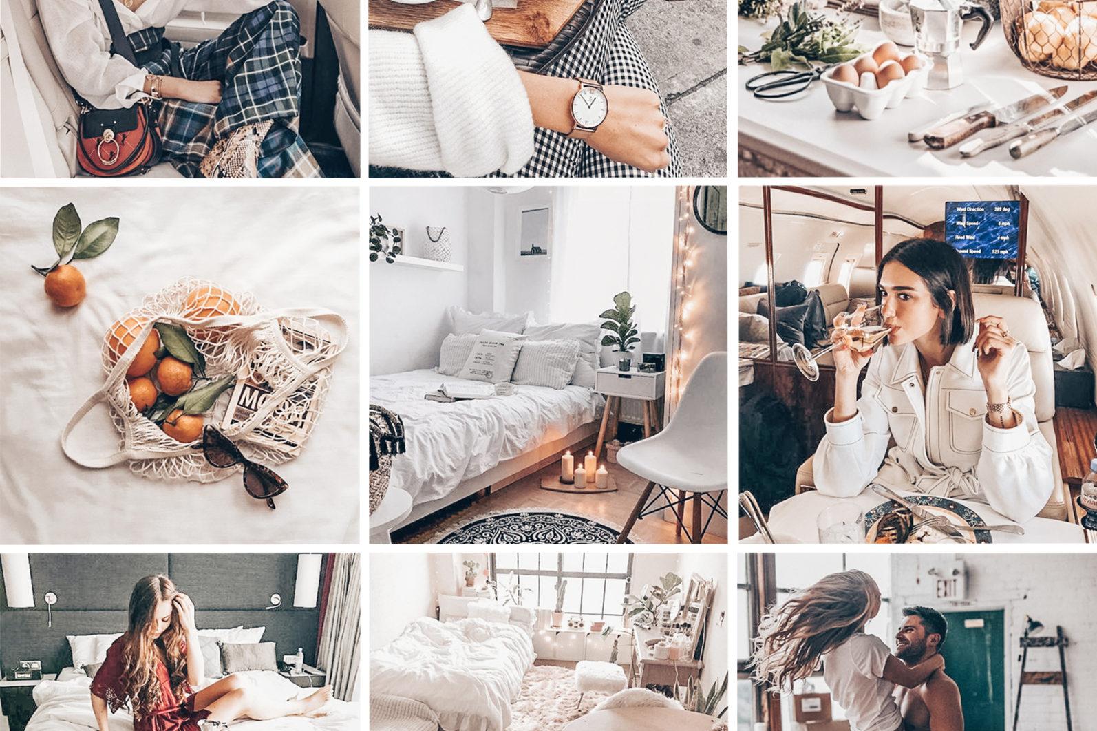 BEST SELLER ⭐️ 7 Mobile & Desktop Lightroom Presets WHITE Instagram Filter - white mobile lightroom presets page2 -