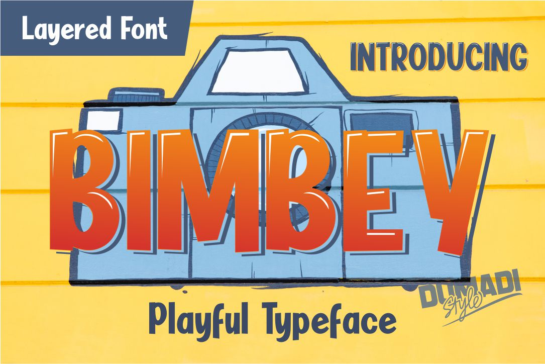 Fabulous Crafting Font Bundle - Bimbey -