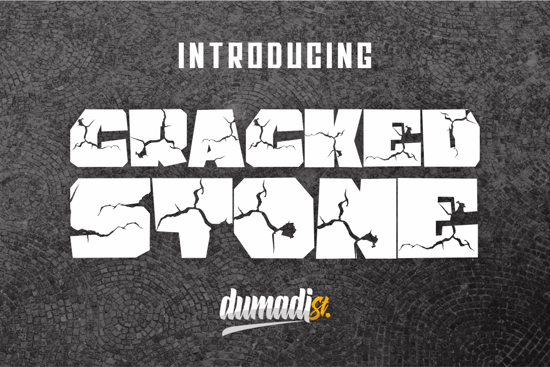 Fabulous Crafting Font Bundle - craced stone -
