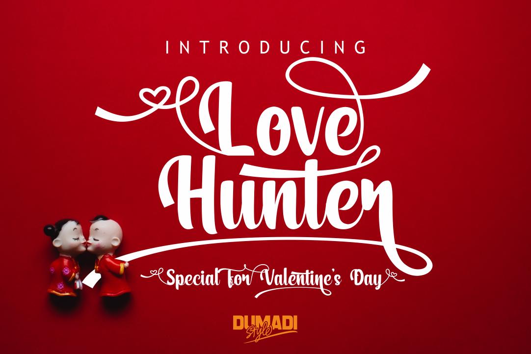 Fabulous Crafting Font Bundle - Love hunter -