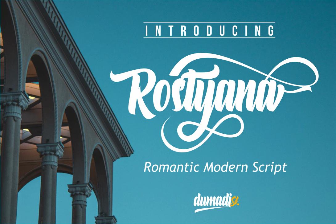 Fabulous Crafting Font Bundle - Rostyana -