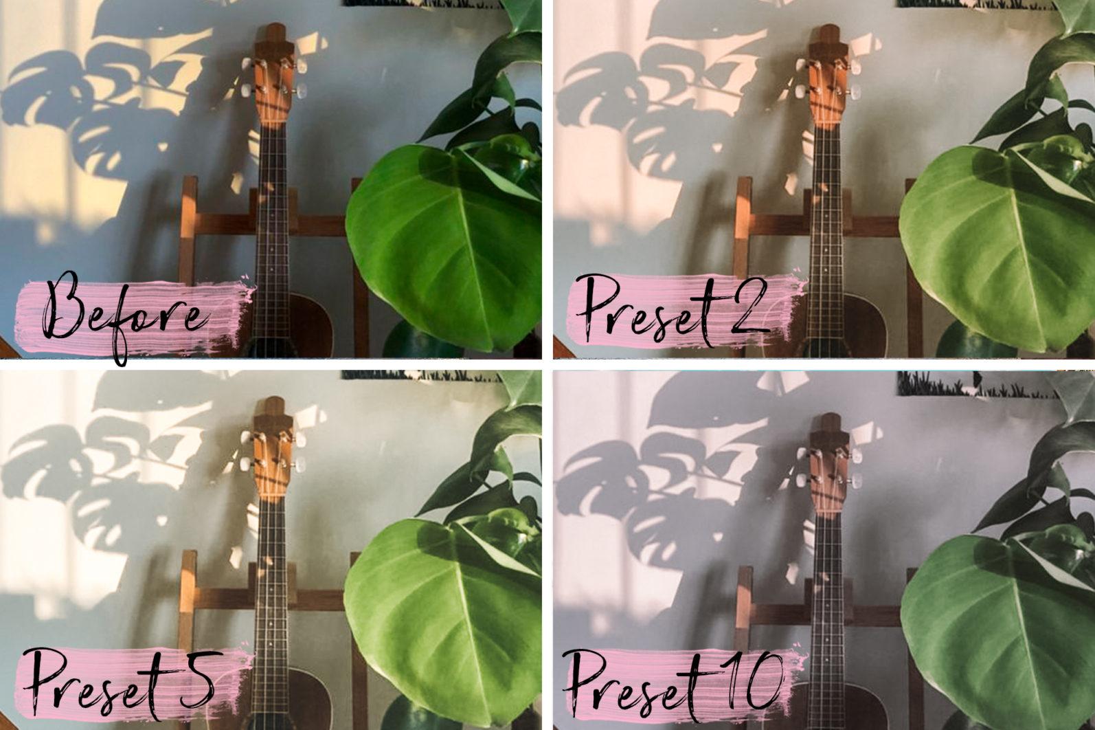 15 Mobile & Desktop Presets LACONIC - laconic lightroom presets cover product 5 -