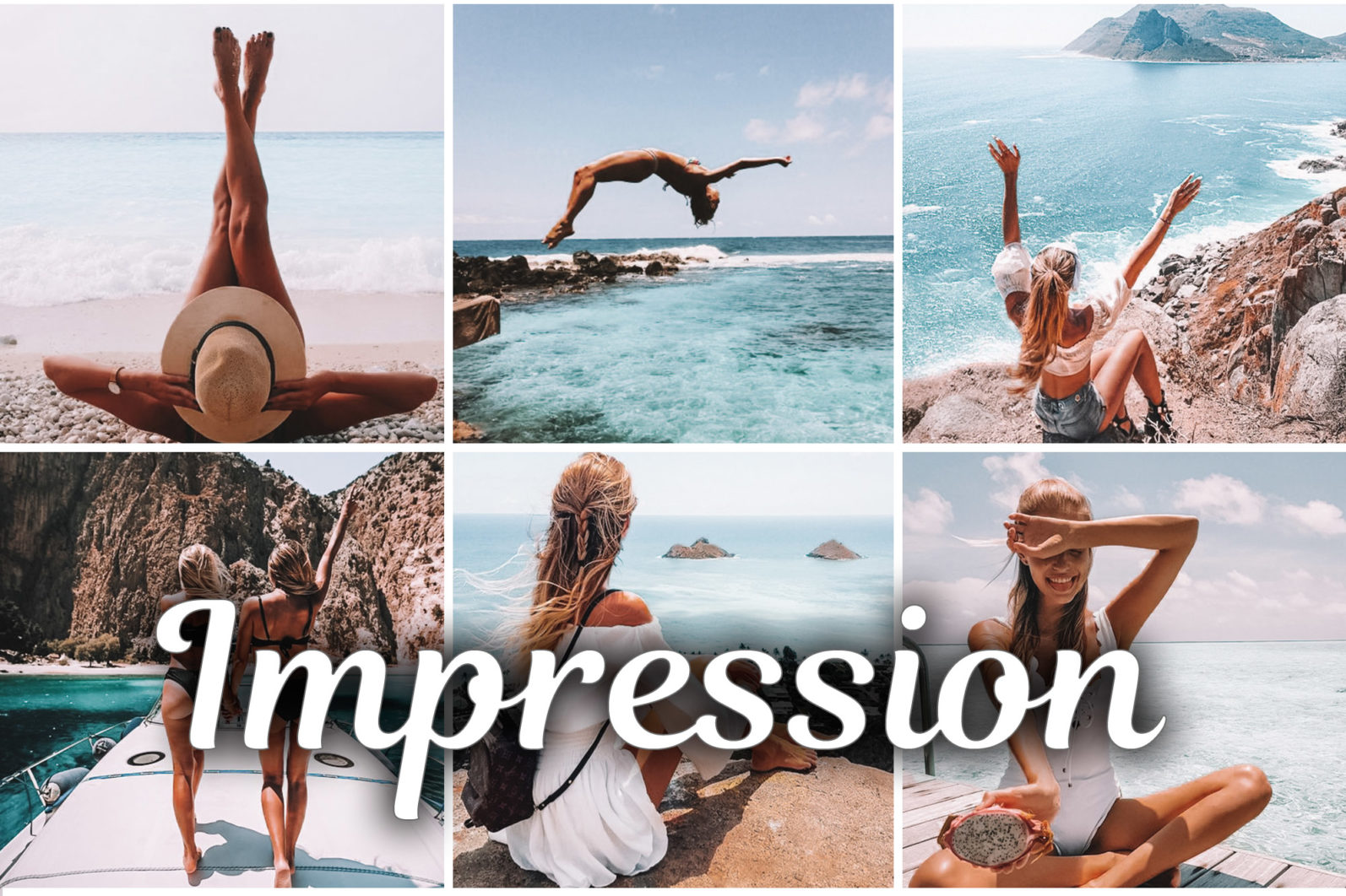 7 Mobile & Desktop Lightroom Presets IMPRESSION - Impression lightroom presets mobile desktop scaled -