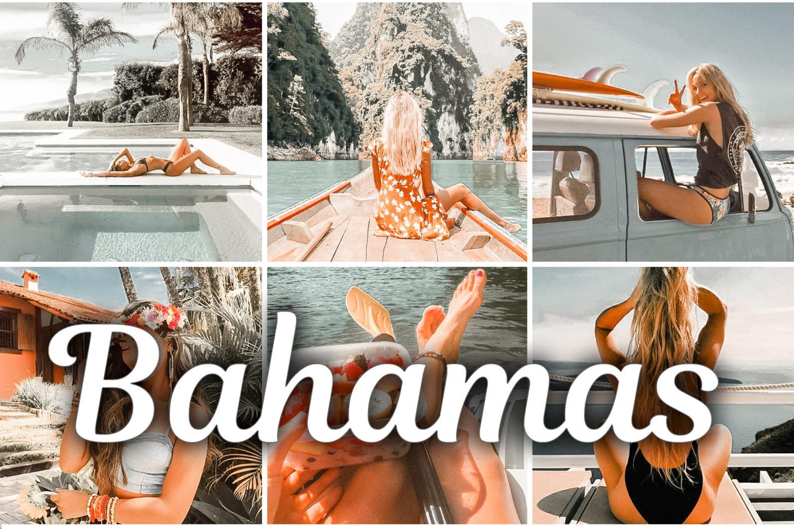 7 Mobile & Desktop Lightroom Presets BAHAMAS - Bahamas lightroom presets mobile desktop scaled -