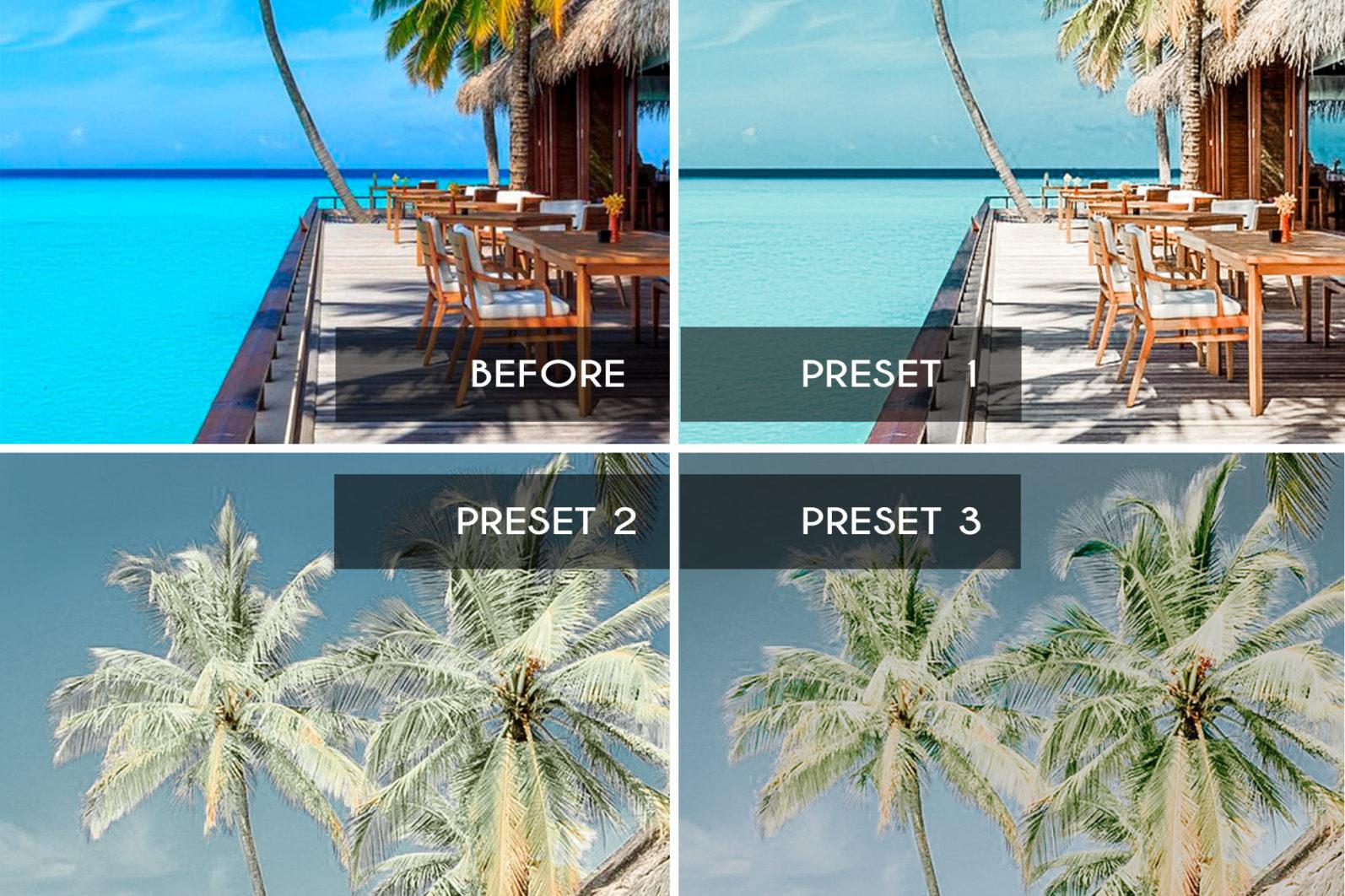 7 Mobile & Desktop Lightroom Presets BAHAMAS - bahamas mobile lightroom presets page4 scaled -