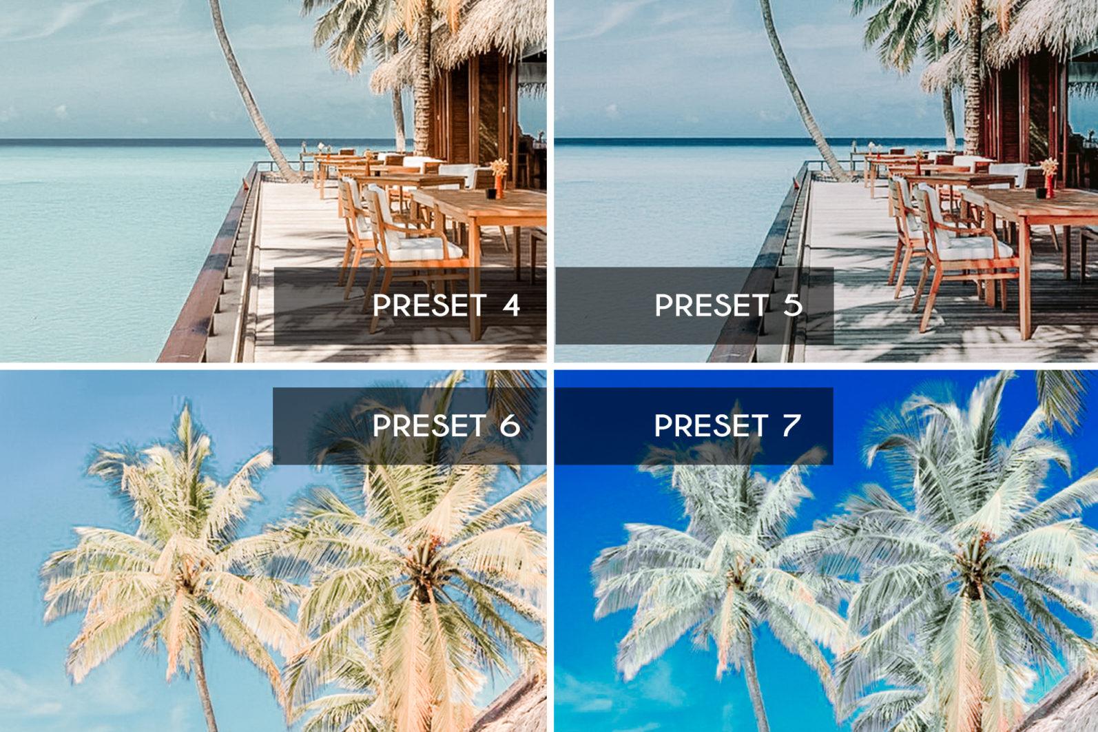 7 Mobile & Desktop Lightroom Presets BAHAMAS - bahamas mobile lightroom presets page5 scaled -