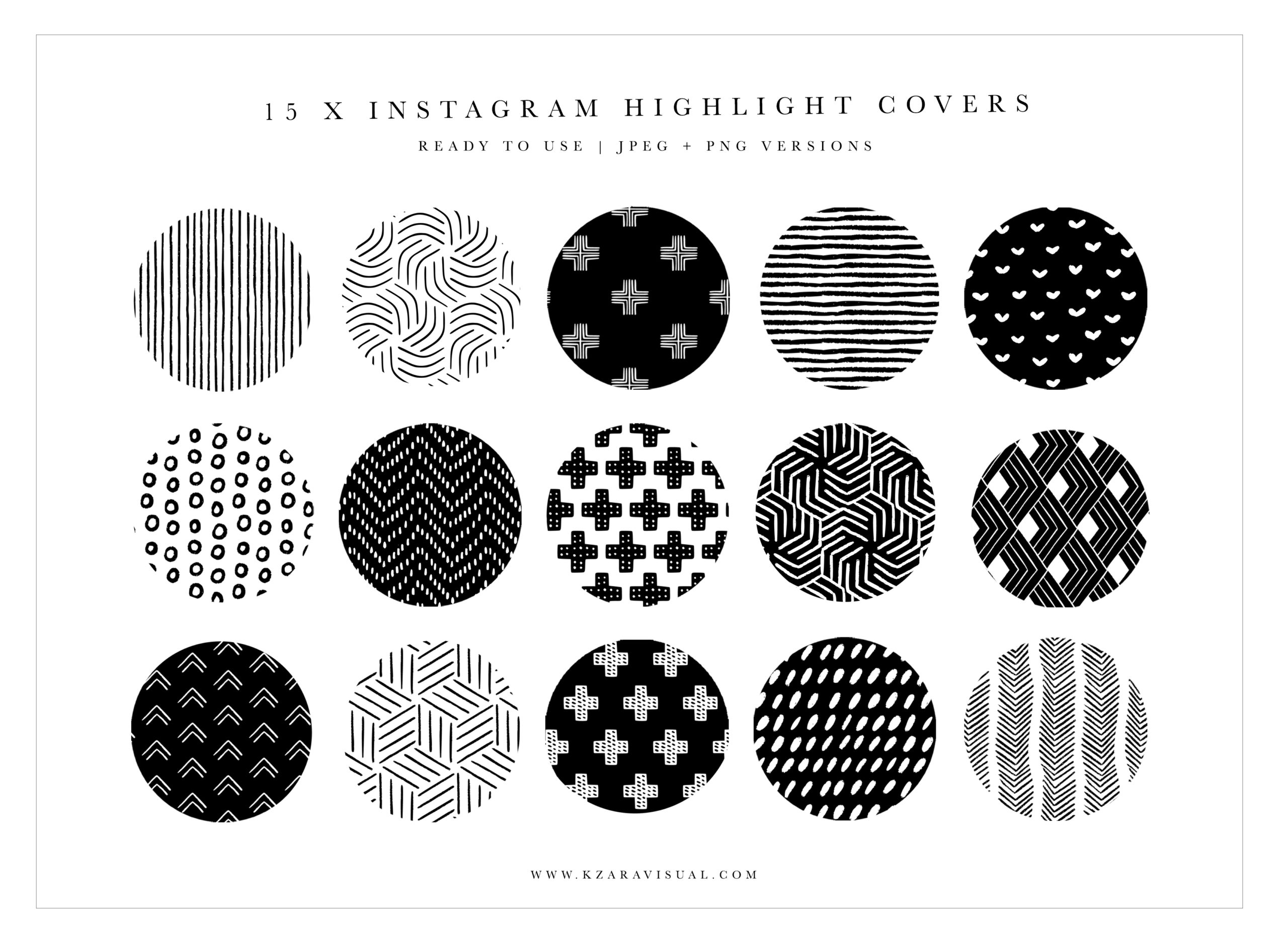Instagram Highlight Covers 33 Black And White Instagram Icons Black And White Highlight Covers Crella