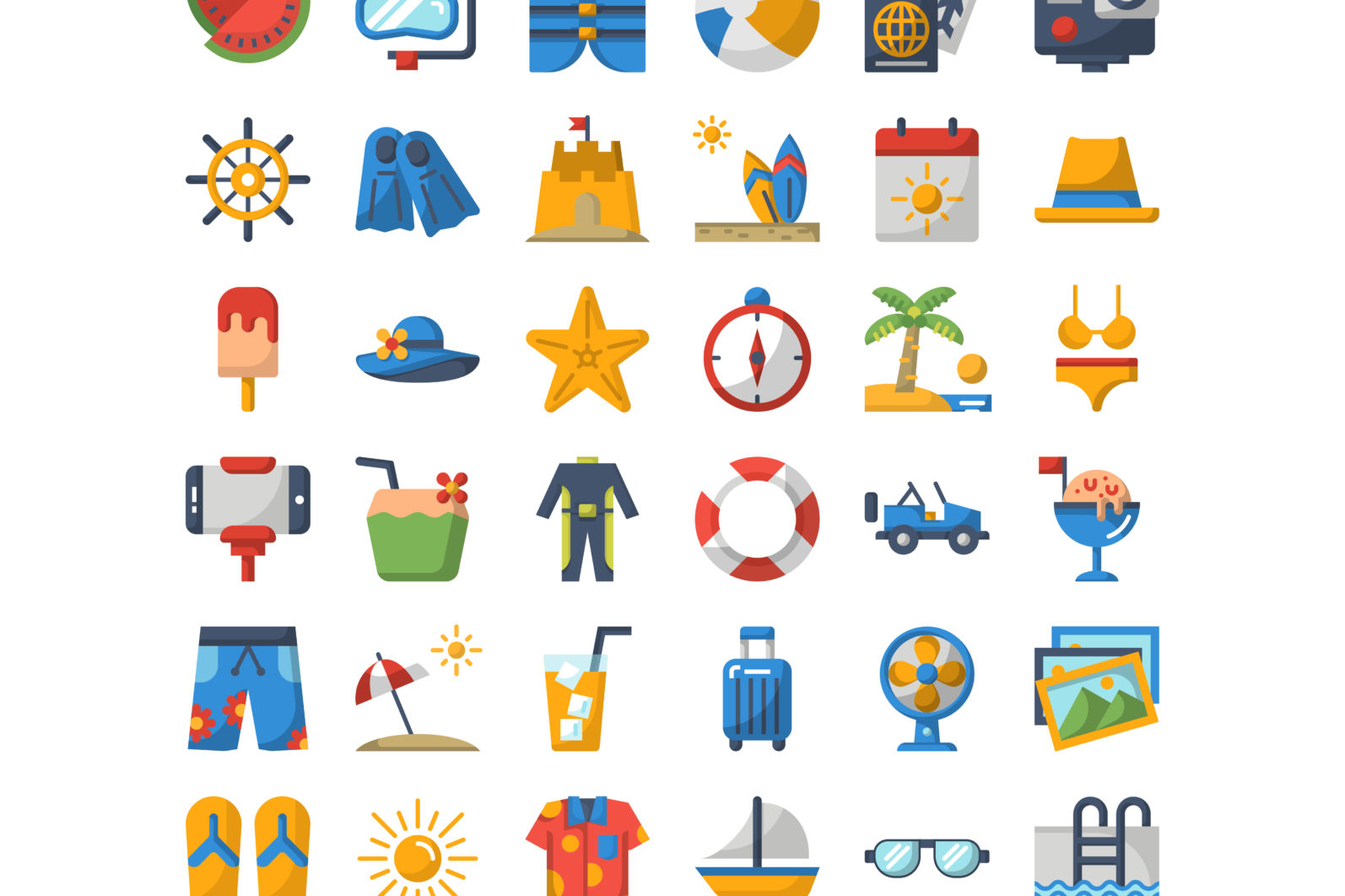 36 Summer Icons - Preview 05 2 scaled -