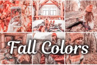Summer Lightroom Presets - Fall Colors mobile lightroom presets -
