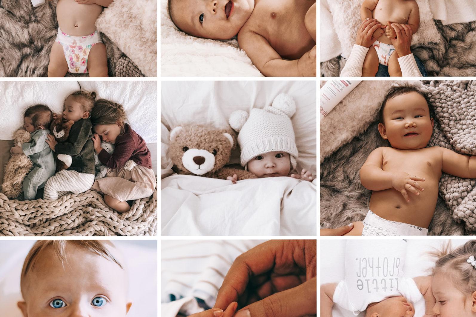 15 Mobile & Desktop Lightroom Presets NEWBORN - Newborn mobile lightroom presets page1 -
