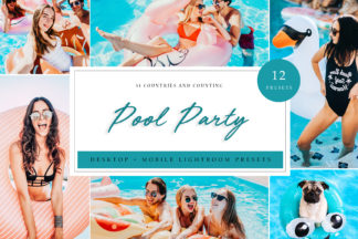 Green Lightroom Presets - Pool Party LR -