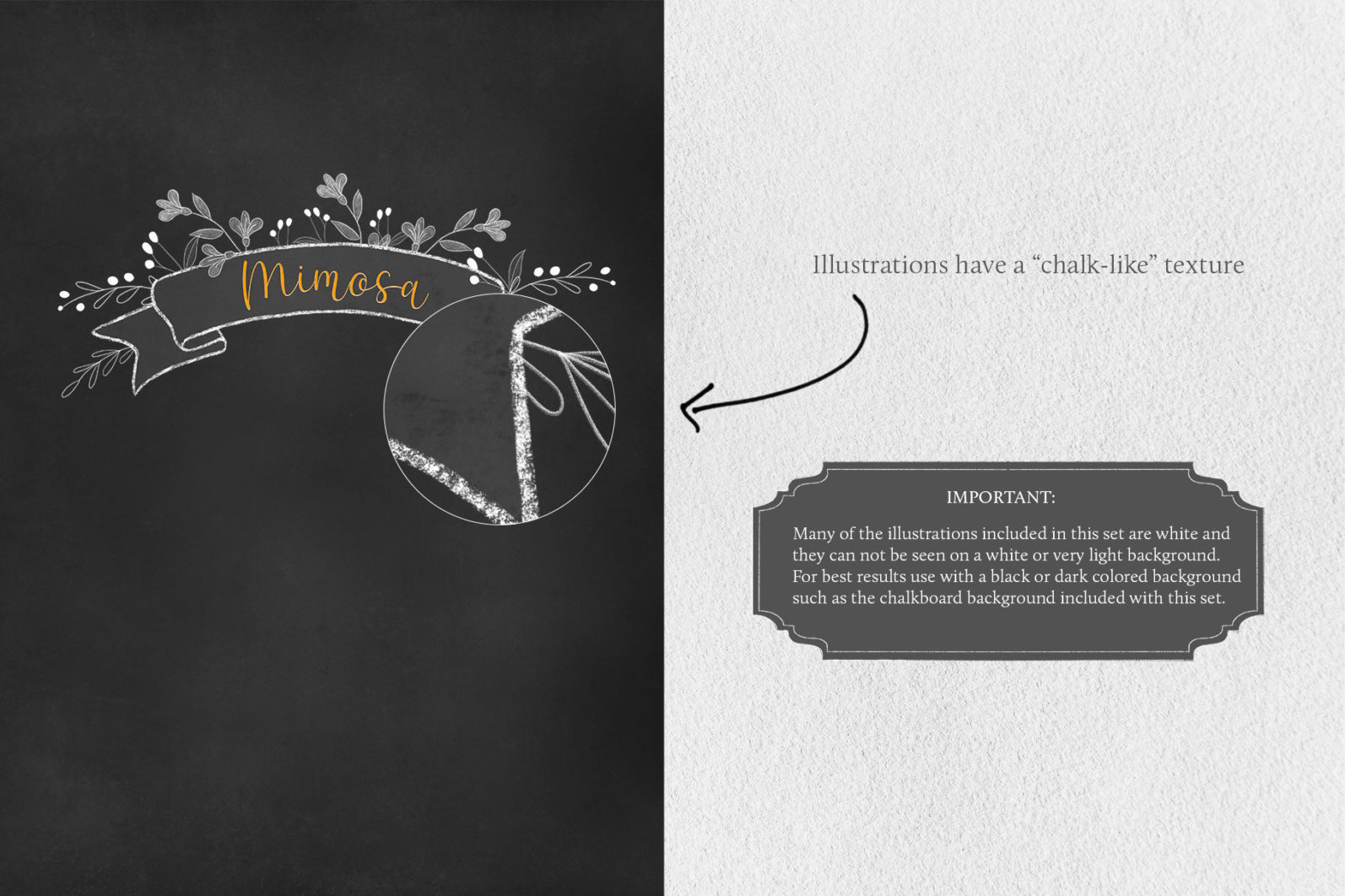 Cocktail Illustrations & Posters - page texture important -