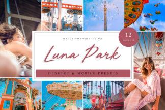 Lifestyle Lightroom Presets - Luna Park LR -