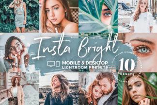 White Lightroom Presets - Insta Bright Mobile Desktop Lighroom Presets Crella -