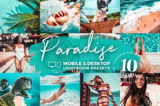 White Lightroom Presets - Paradise Mobile Desktop Lighroom Presets Crella -