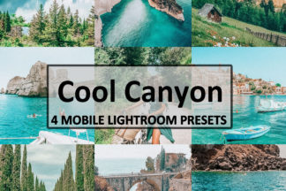 Spring Lightroom Presets - Cool Canyon -