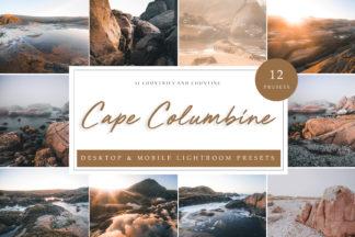 Green Lightroom Presets - Cape Columbine LR -