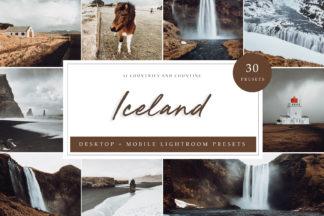 Lifestyle Lightroom Presets - Iceland LR -