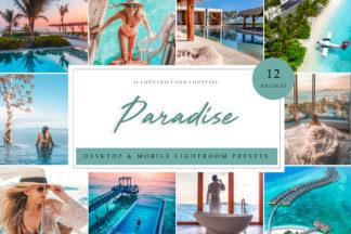 Lifestyle Lightroom Presets - Paradise LR -