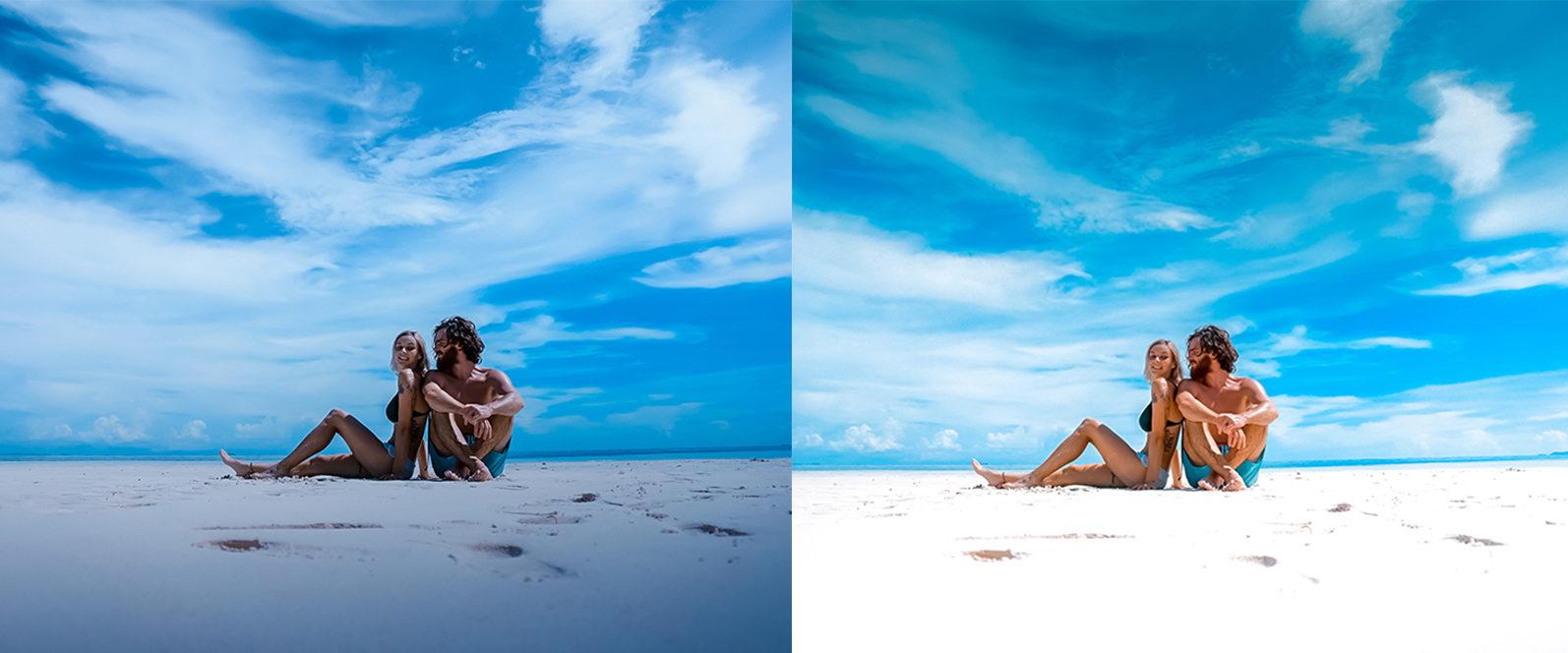 BUNDLE /// 04_Travel Collection // 64 x Desktop and Mobile Presets - 3 Sun Sational 1 -
