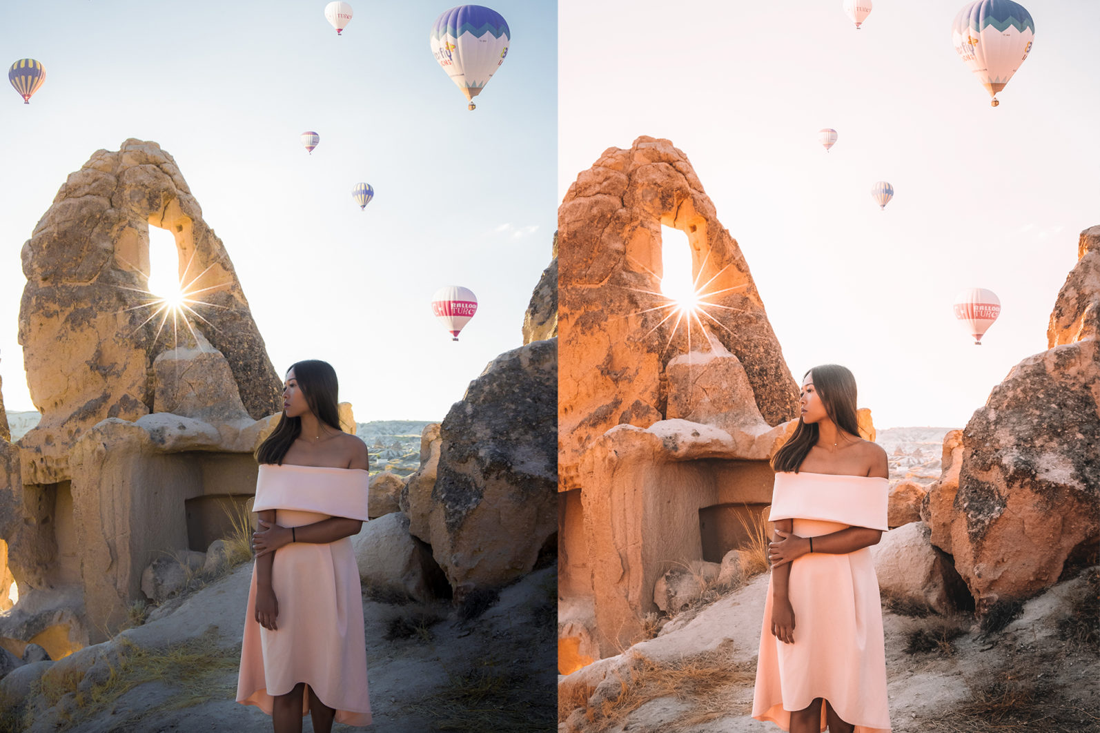 BUNDLE /// 04_Travel Collection // 64 x Desktop and Mobile Presets - 3 Hot Air Balloon1 -