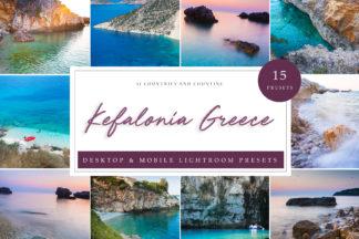 Sunset Lightroom Presets - Kefalonia LR -