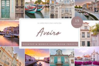 Sunset Lightroom Presets - Aveiro LR -