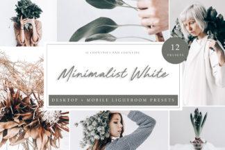 Lifestyle Lightroom Presets - Minimalistic LR -