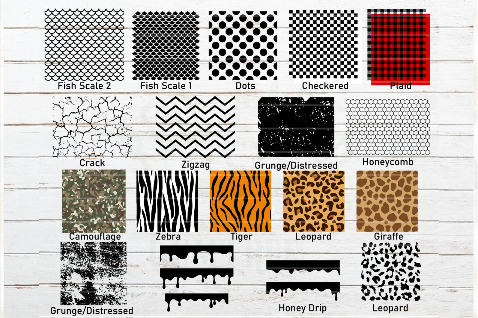 The Mega SVG Bundle Design. More than 650 Designs included in SVG,PNG,DXF,PDF,EPS formats - patterns template svg stencil template bundle svg plaid template svg mermaid fish scale svg grunge svgdistressed pattern svgleopard pattern svg tiger pattern svg 2 scaled -