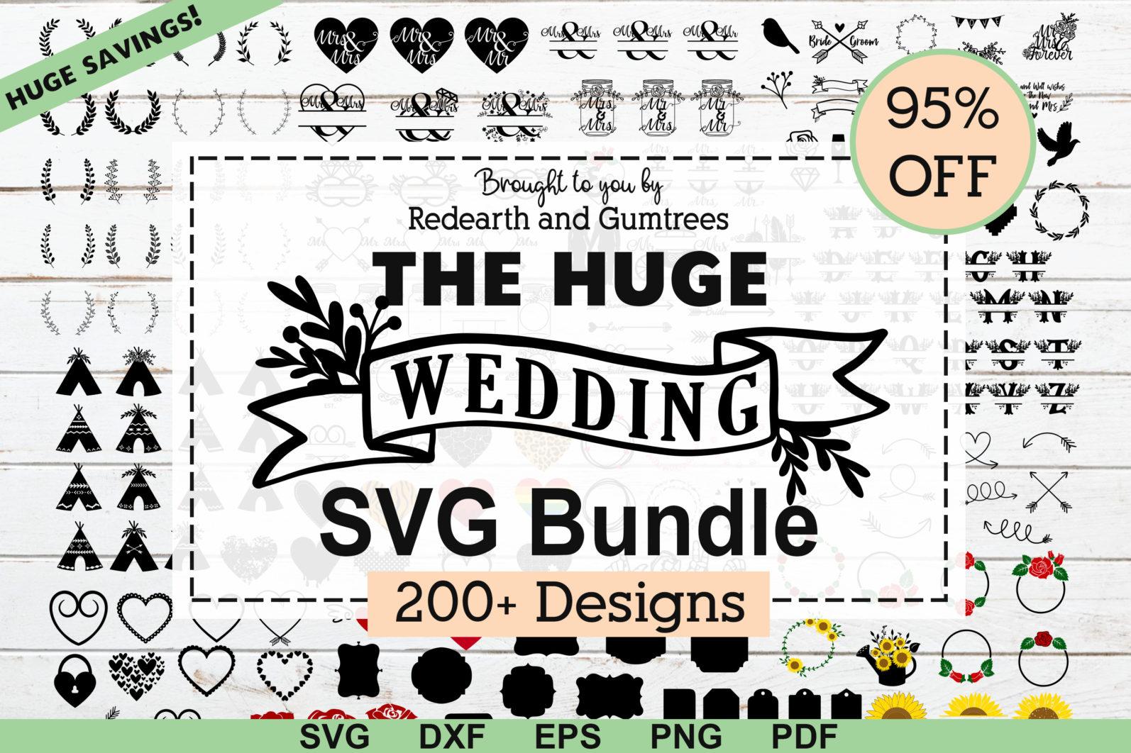 The Mega SVG Bundle Design. More than 650 Designs included in SVG,PNG,DXF,PDF,EPS formats - huge wedding bundle svg wedding svgwedding monogram svg mr and mrs svg frame bundlearrows svgrose bundle floral leters svg scaled -