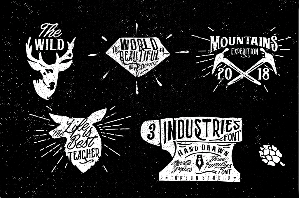 3 Font Industries - POSTER 6 -