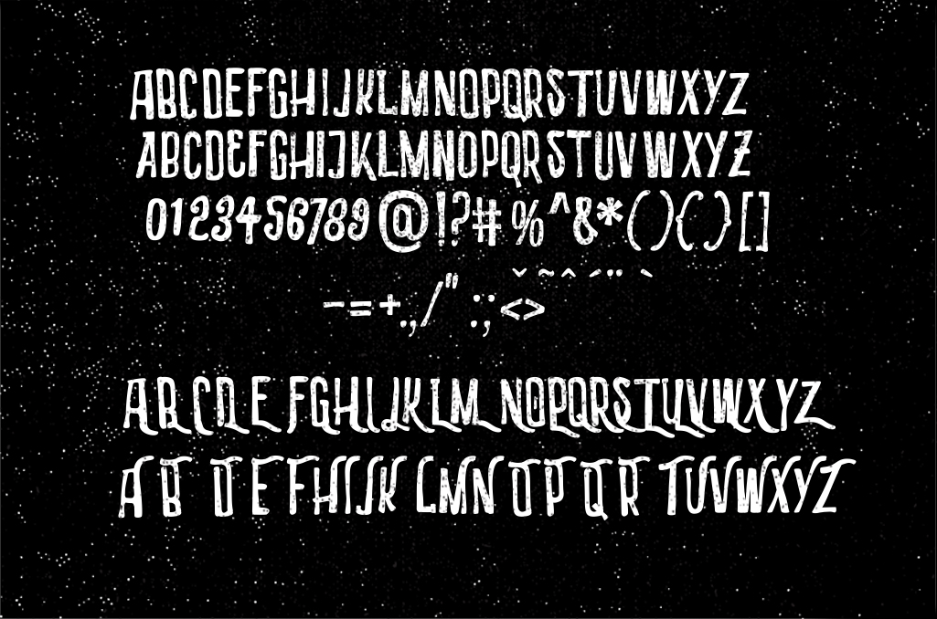 3 Font Industries - POSTER 7 -