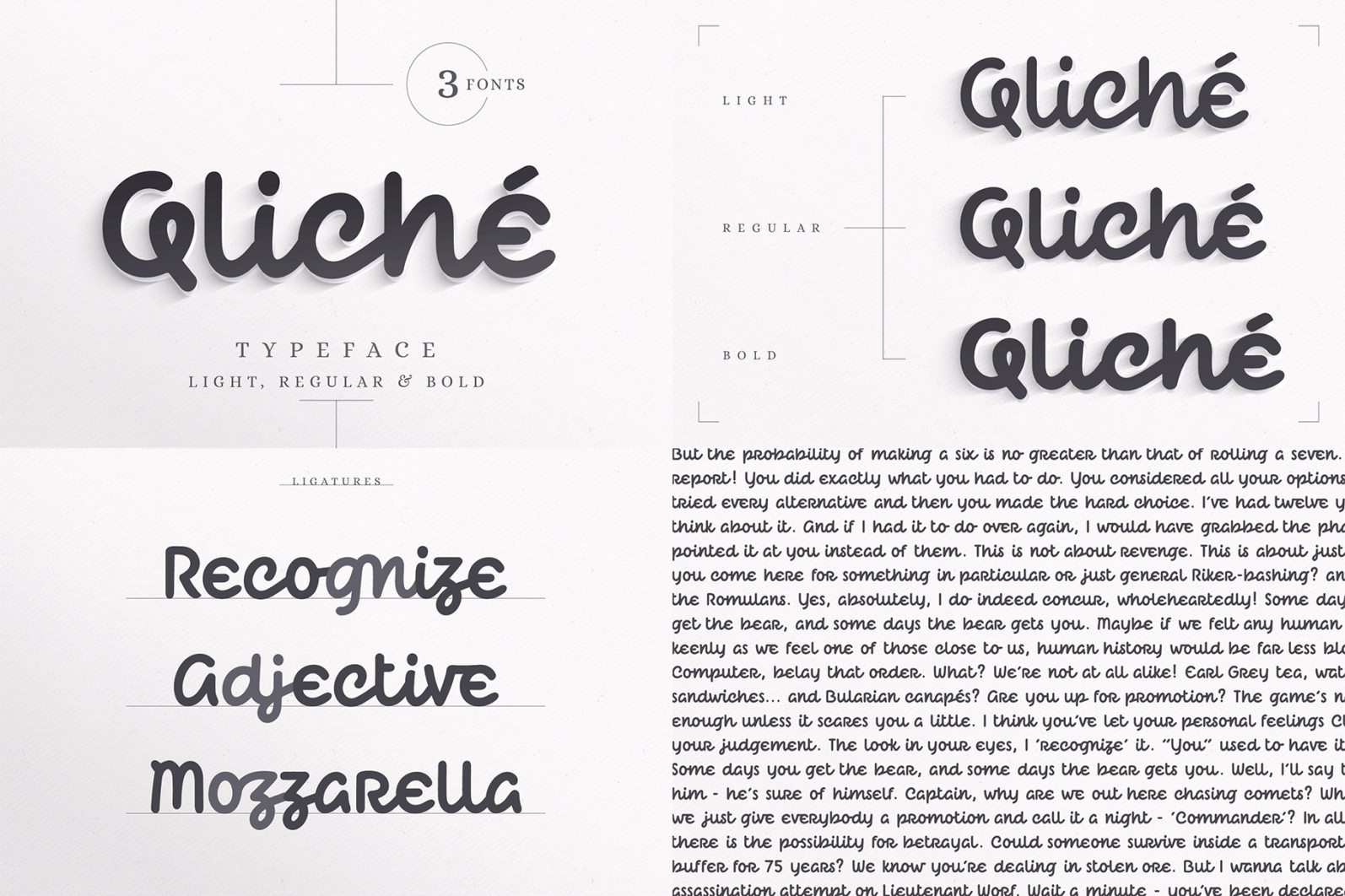 The Hand Lettered Font Bundle - Bundlemedia Qliche -