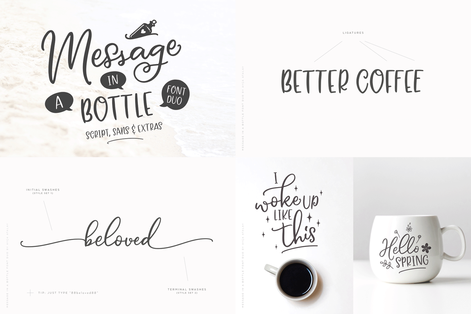 The Hand Lettered Font Bundle - Bundlemedia MIB -
