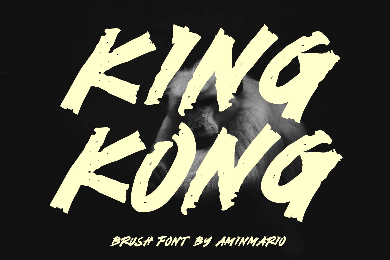 Brush Font Bundle - 45 Fonts - KING KONG -
