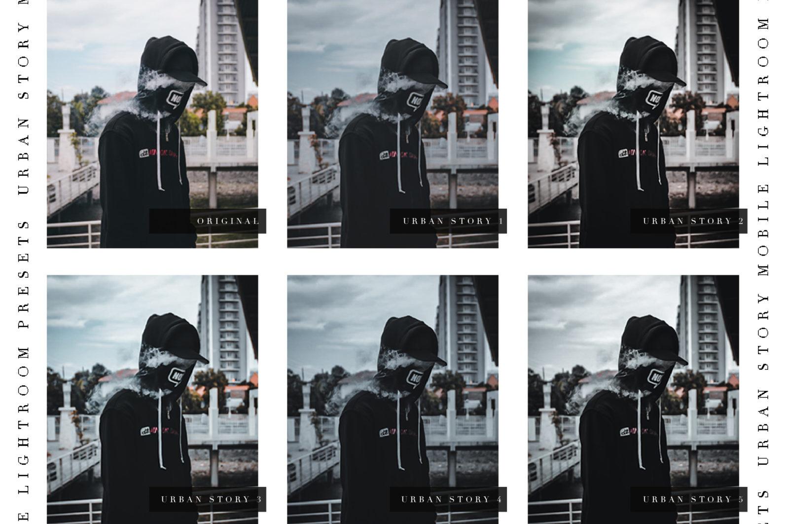 URBAN STORY - Lightroom Presets - Z 02 -
