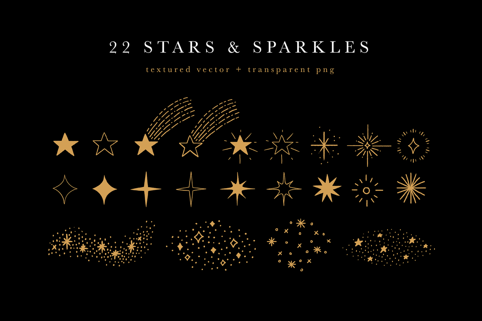 Celestial Illustration Set - Sun Moon Stars Space - Moonchild Preview 06 -
