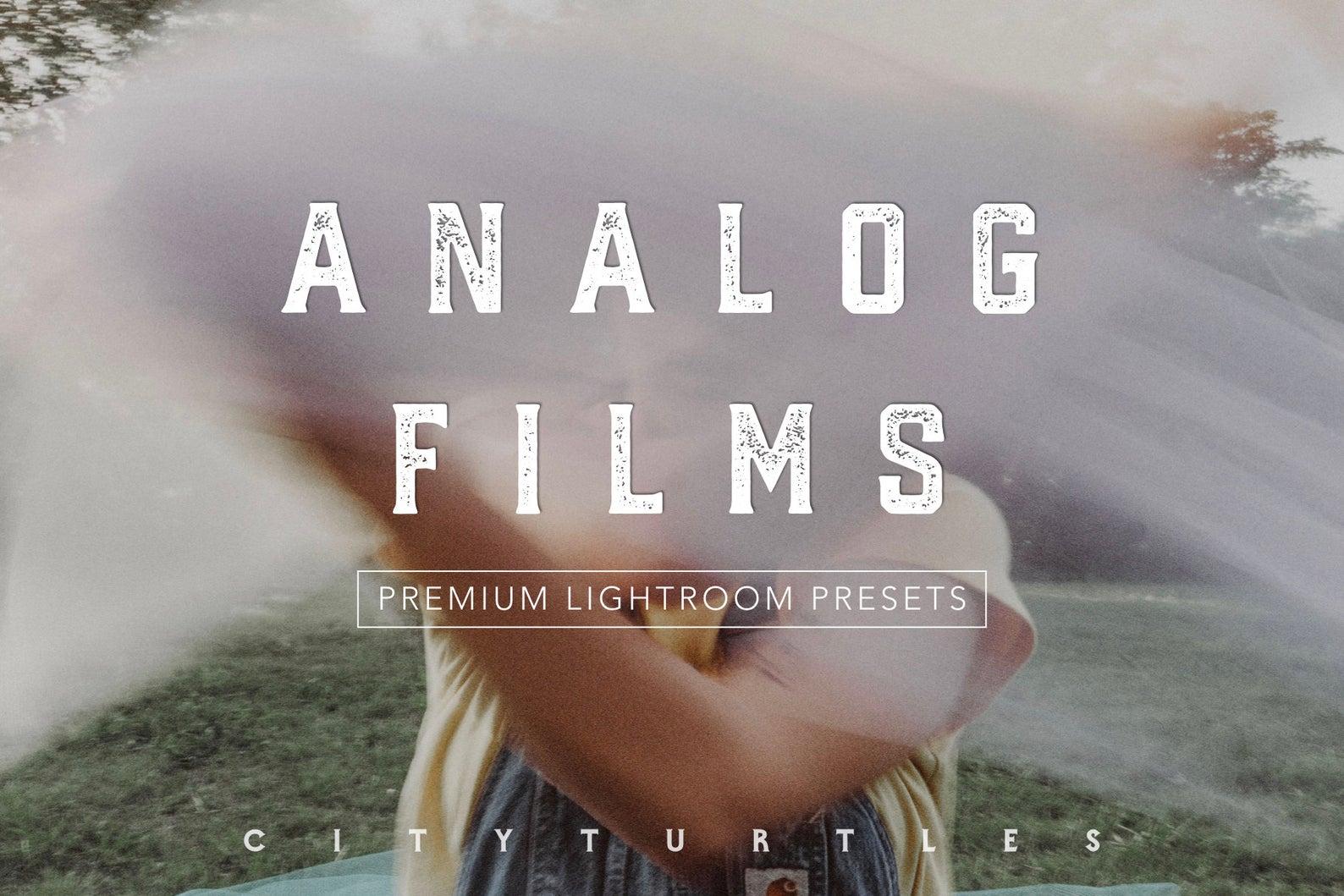 FILM LOVERS BUNDLE Lightroom Presets for Desktop & Mobile - Premium Photography Editing Tools - -