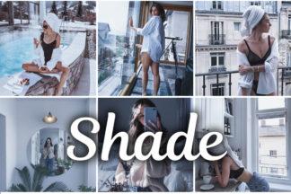 Summer Lightroom Presets - Shade mobile desktop lightroom presets 1 -