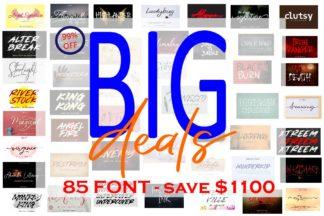 "<span style=""display: none"">Font Bundles</span> - COVER BUNDEL ALL FONTS -"